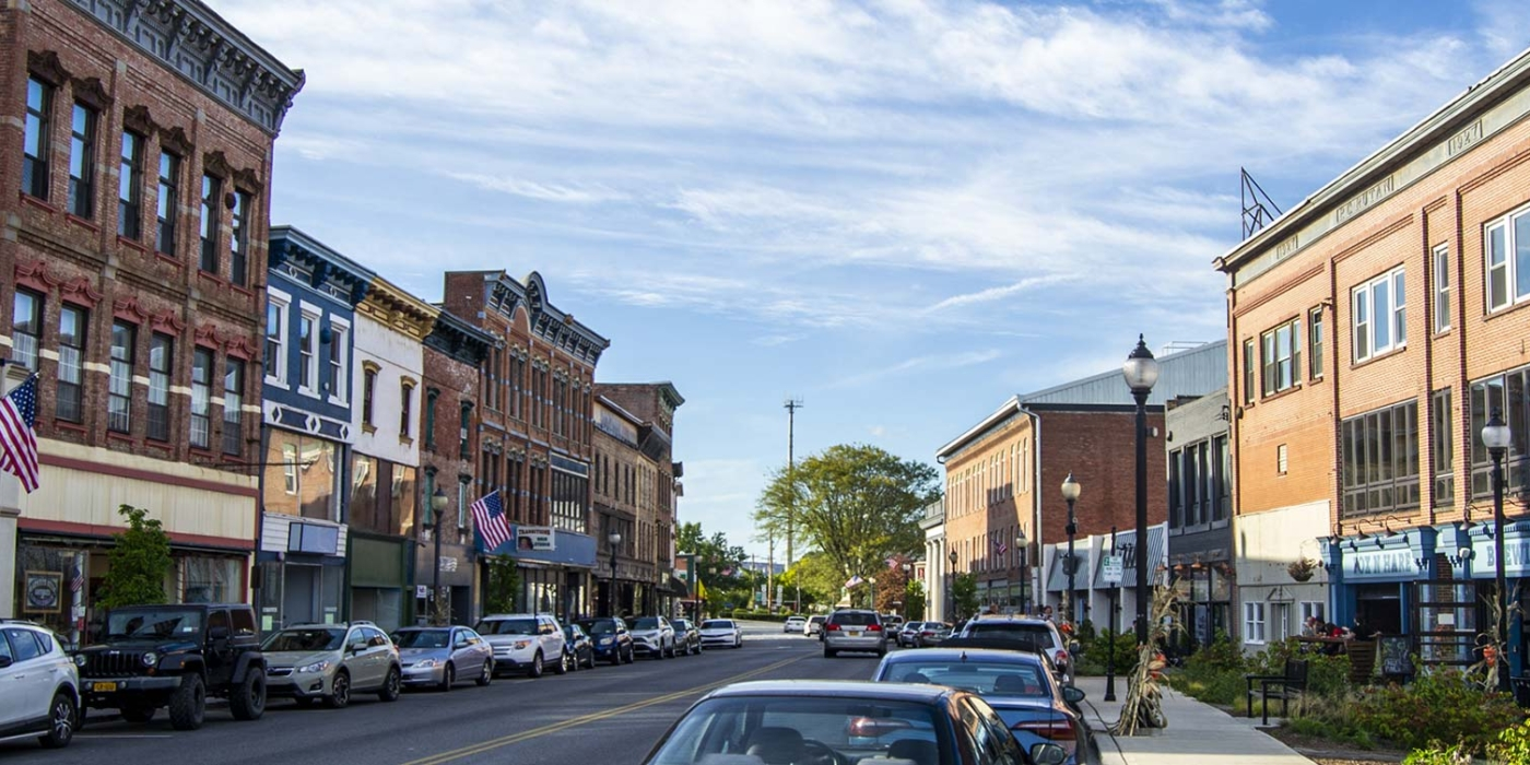 Front St., Downtown Port Jervis, NY - Orange County - Photo Credit: Andrew Frey