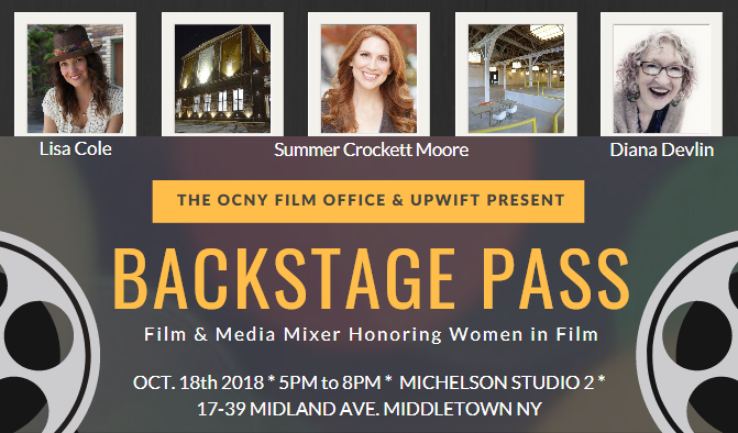 Backstage Pass: Film & Media Mixer Is Almost Here! Register